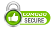 This page is secured my Comodo SSL.